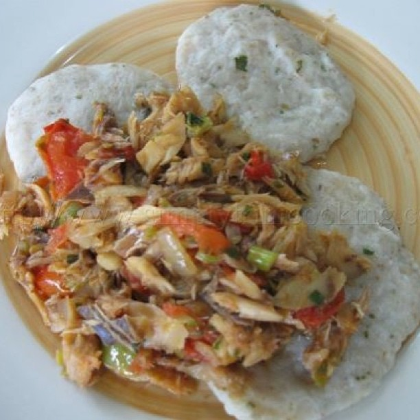 Codfish cook up jamaican style nutrition 4 cells for Jamaican salt fish
